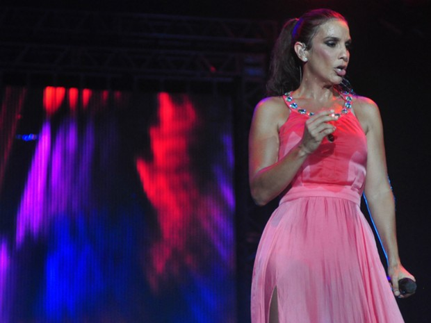 Ivete Sangalo foi outra atração do dia 13 de janeiro (Foto: Eduardo Biermann/Divulgação)
