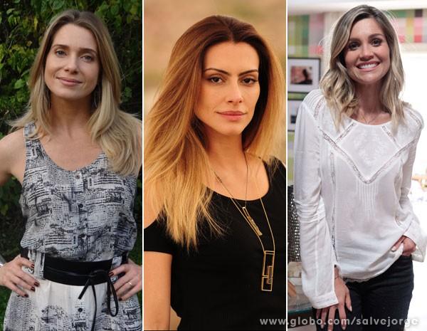As loiras de Salve Jorge contam seus segredos (Foto: Salve Jorge/ TV Globo)