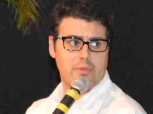 Secretário de Políticas Agrícola do Ministério da Agricultura, Pecuária e Abastecimento (Mapa), Seneri Paludo no Fórum Soja Brasil (Foto: Anderson Viegas/Do Agrodebate)
