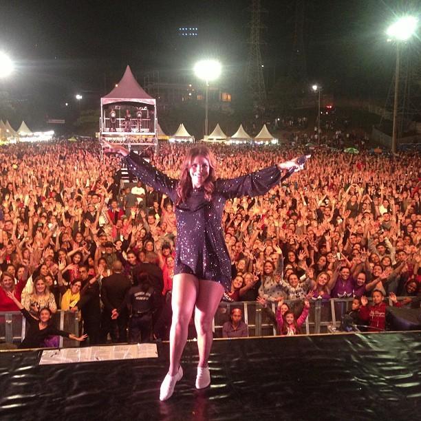 Ivete Sangalo em show (Foto: Instagram/ Reprodução)
