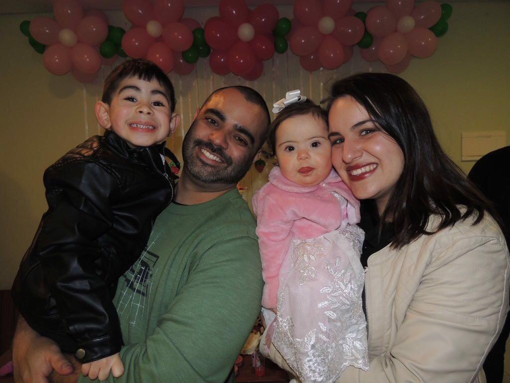A família de Maria Isabel  (Foto: Acervo pessoal)