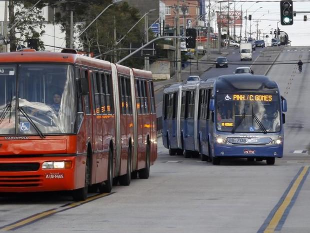 Passagem de ônibus em Curitiba e Região Metropolitana foi reajustada (Foto: Arquivo/SMCS)
