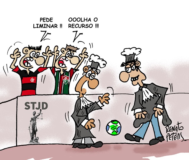 BLOG: FlaxFlu no tribunal...
