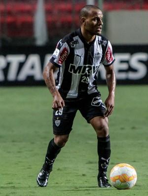 Patric em ação pelo Galo, na partida contra o Atlas-MEX (Foto: Bruno Cantini/Flickr do Atlético-MG)