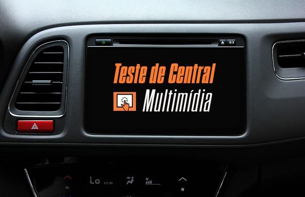 Teste de Central Multimídia: Honda HR-V (Foto: Autoesporte)