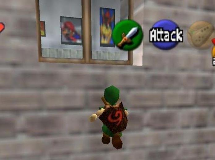 Quadros do Mario (Foto: Reprodução)