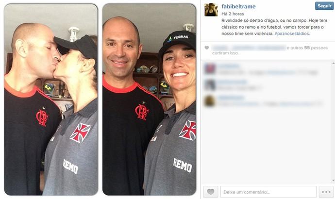 Fabiana Beltrame e Esposo (Foto: Reprodução / Instagram)