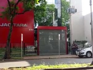 Empresa Jacitara foi um dos locais investigados pelo Gaeco em Campinas (Foto: Reprodução / EPTV)