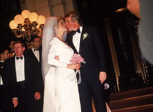 Donald Trump e Marla Maples (Foto: Getty Images)