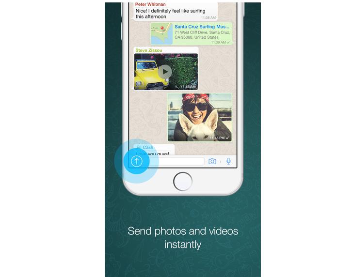 A tela de 5.5 polegadas do Plus é perfeita para quem gosta de usar o WhatsApp (Foto: Divulgação)