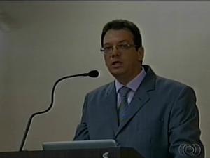 Lider evangélico, Ildésio Luis Alves, diz que igrejas estão sendo perseguidas em Araguaína Foto: Reprodução/TV Anhanguera)