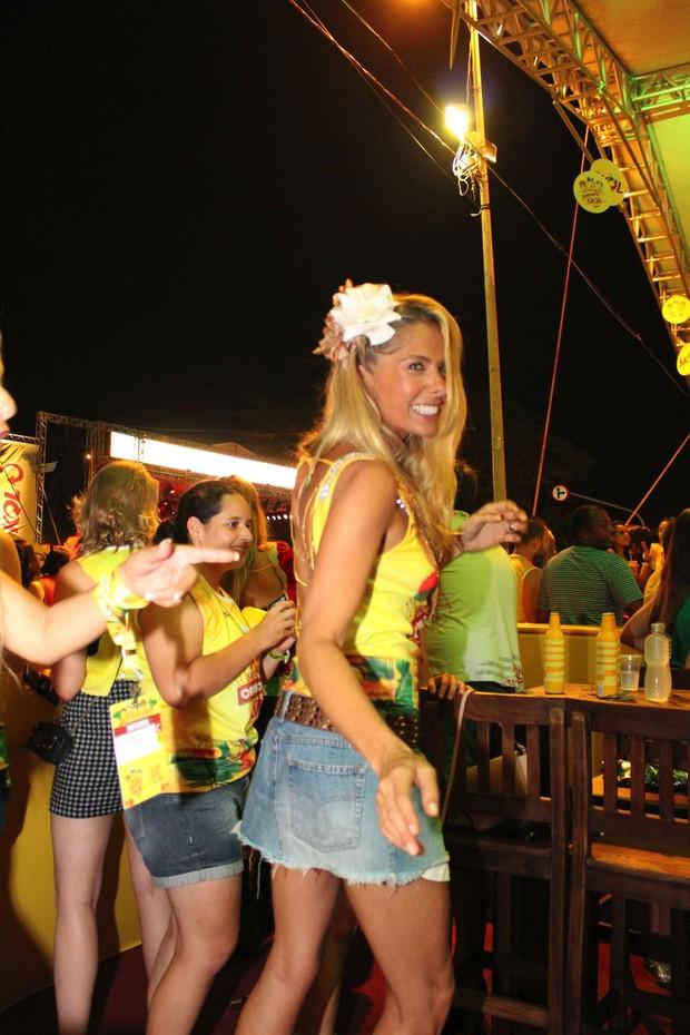 Adriane Galisteu no SummerFloripa (Foto: Divulgação)