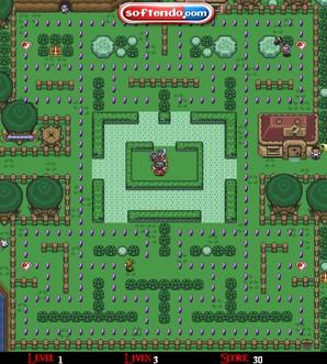 Legend of Zelda: Pacman