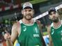 Alison e Bruno Schmidt atropelam americanos e vão à decisão no Rio