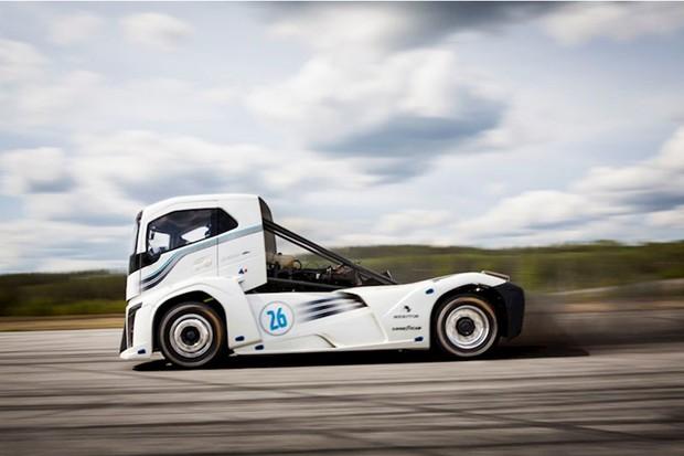 Caminhão Iron Knight da Volvo (Foto: Divulgação)