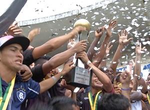 Remo vence a Copa Norte Sub-20 (Foto: Reprodução/TV Liberal)