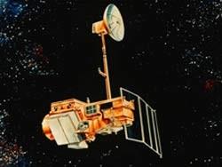 Ilustração da Nasa mostra o satélite Landsat 5 (Foto: NASA)