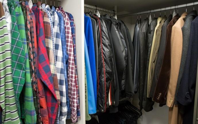 Galeria Gabriela Corrêa organizadora de ambientes e de como dobrar roupas Mistura com Rodaika armário closet cozinha banheiro joias quarto calcinhas meias cuecas (Foto: Thiago Pitrez/Divulgação)