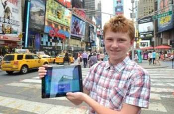 Jovem irlandês Casey Jordan criou três startups até os 15 anos.