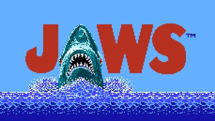 Tubarão ganhou o oscar e chegou ao NES (Foto: Divulgação)