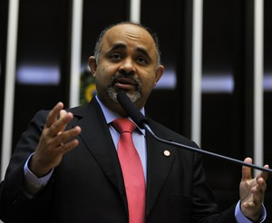 George Hilton novo ministro do esporte (Foto: Zeca Ribeiro / Câmara dos Deputados)