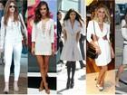 Deu branco! Veja lista das famosas mais bem-vestidas da semana