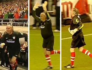 goleiro Atlético de Bilbao estádio despedida San Mamés (Foto: Reprodução / Eitb.com)