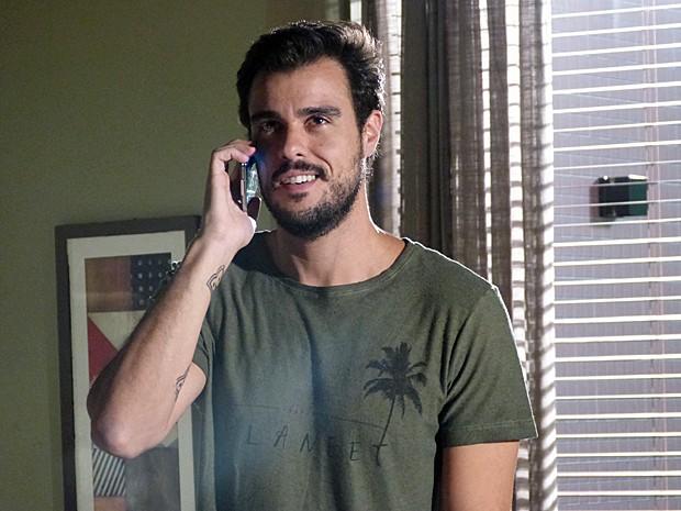 Enrico tenta prejudicar Vicente (Foto: Gshow)