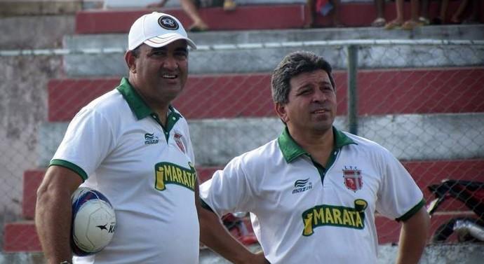 Elenison Silva, Guidon, Técnico do Lagarto (Foto: Reprodução / LFC)