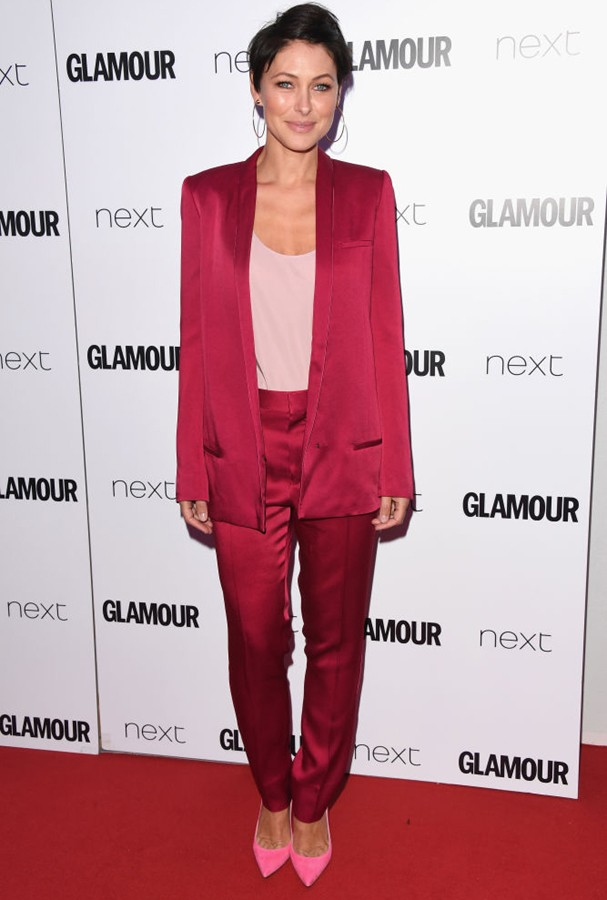 Emma Willis no Glamour Awards 2017 (Foto: Stuart C. Wilson/Getty Images)