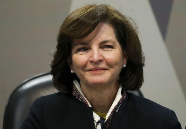 Raquel Dodge é sabatinada na CCJ do Senado, antes de assumir o cargo de procuradora-geral da República (Foto: Marcelo Camargo/Agência Brasil)