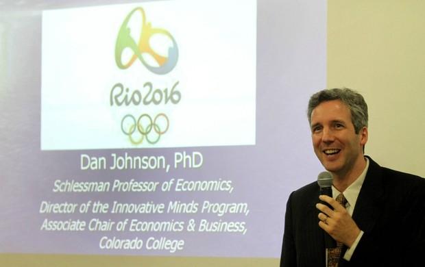 Especialista Daniel Johnson faz previsões para as Olimpíadas (Foto: Glauber Fernandes de Queiroz / Ministério do Esporte)