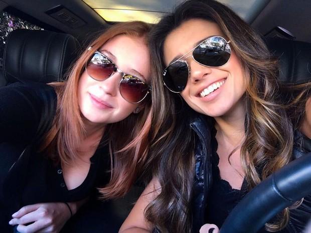 Paula Fernandes posa com Marina Ruy Barbosa (Foto: Reprodução/Instagram)