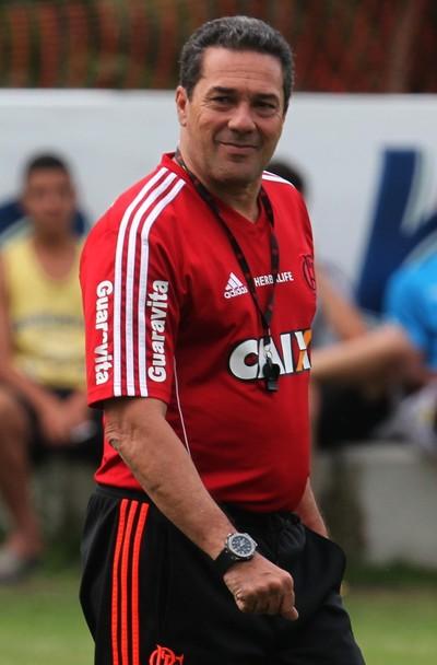Luxemburgo, Ninho do Urubu, Flamengo (Foto: Gilvan de Souza/Fla Imagem)