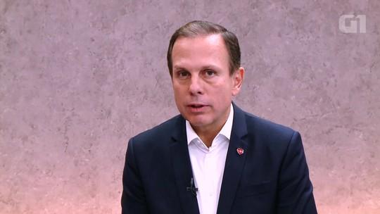 Ele seria um 'ótimo candidato' a governador, diz Alckmin sobre Doria