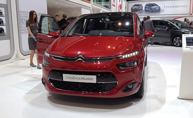 Citroën C4 Picasso no Salão de Genebra (Foto: Aline Magalhães/Autoesporte)