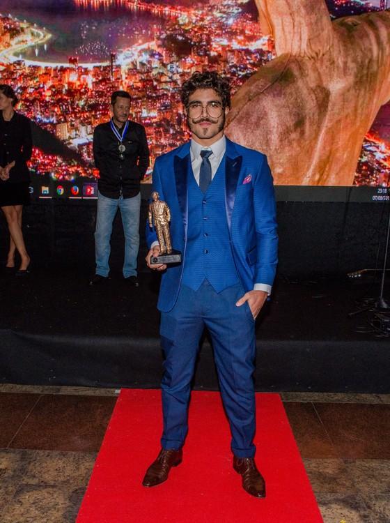 Caio Castro: prêmio pelo seu desempenho na novela Novo Mundo (Foto: Divulgação)