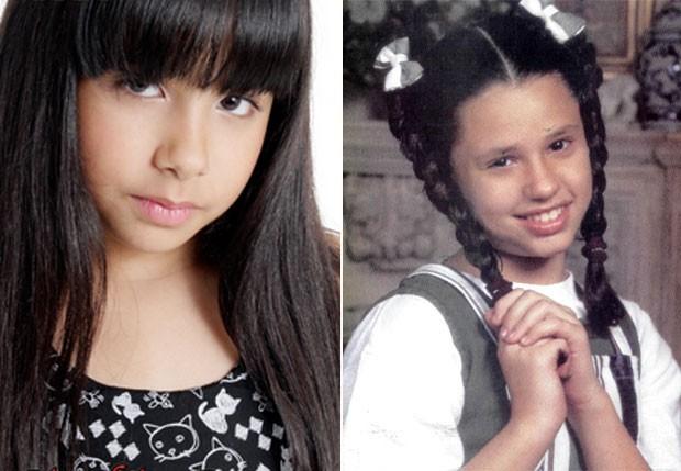 CRIS: A romântica órfã, antes vivida por Francis Helena, será interpretada por Cínthia Cruz (Foto: Reprodução)
