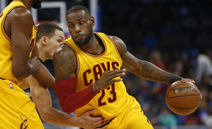 LeBron James Cleveland Cavaliers Orlando Magic (Foto: Reinhold Matay-USA TODAY Sports)