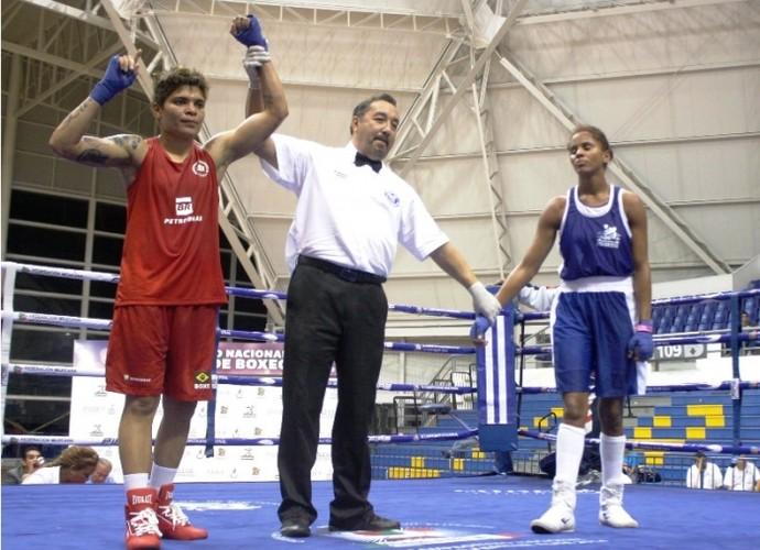 Adriana Araújo boxe Continental de Boxe (Foto: Divulgação/CBBoxe)