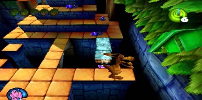 Versão de Frogger para Nintendo 64 foi cancelada (Foto: Reprodução/YouTube)