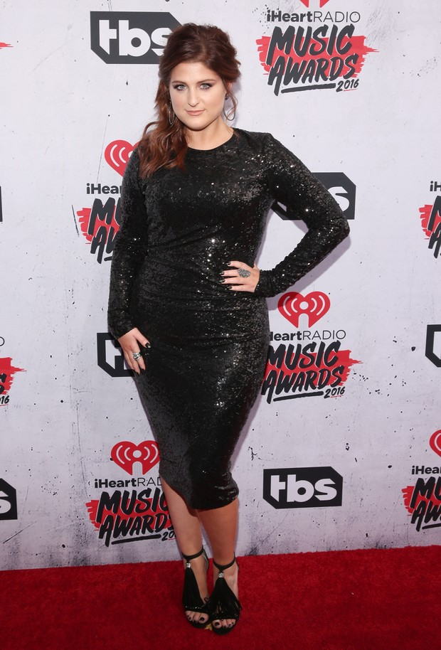 Meghan Trainor no iHeartRadio Music Awards (Foto: Getty Images)