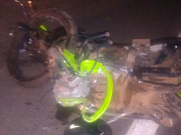 Divulgação (Foto: Acidente aconteceu entre Taquaruçu e Palmas)