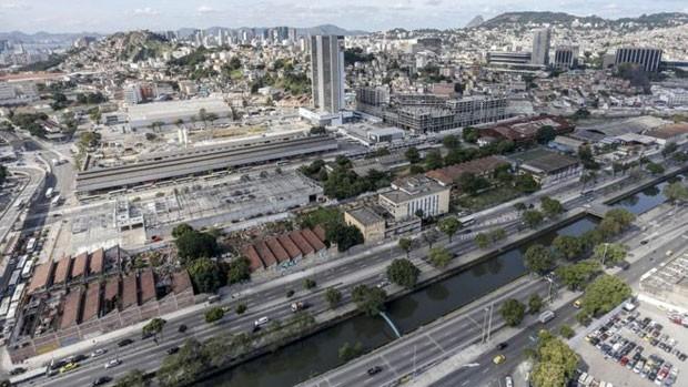 Região onde candidato à Presidência dos Estados Unidos, Donald Trump quer construir empreendimento imobiliário no Rio (Foto: Daniel Ramalho/BBC)