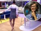 Manoel põe vestido no 'Gran Hermano' e Pedro brinca: 'Aprendeu direitinho'