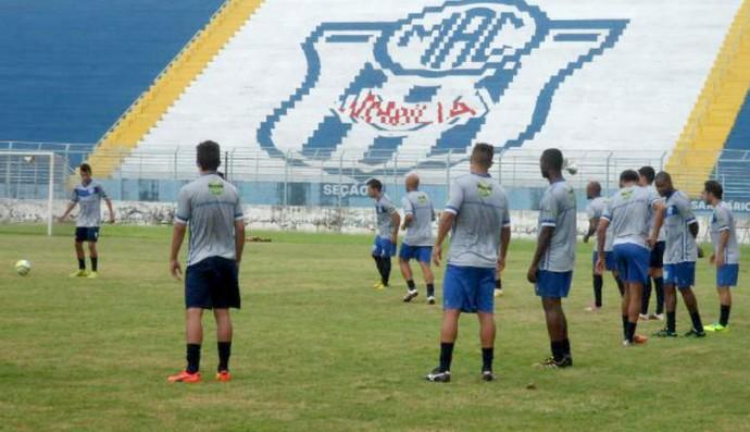 Marília, treino (Foto: Divulgação / Marília AC)