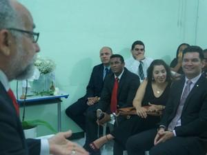 Casamentos foram realizados na Penitenciária Lemos de Brito (Foto: Divulgação/Defensoria Pública da Bahia)
