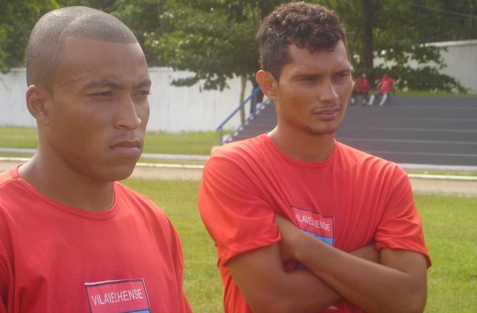 Léo Oliveira também atuou no Vilavelhense (Foto: Divulgação/Vilavelhense FC)