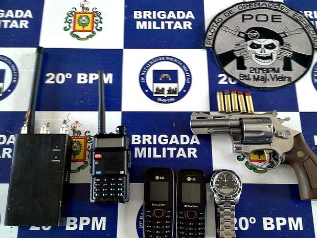 três presos assis brasil porto alegre (Foto: Divulgação/Brigada Militar)