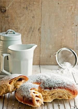 Rosca de creme (Foto: Casa e Comida)